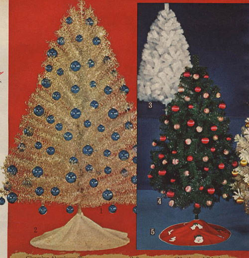 1964 Sears Catalog Artificial Christmas Trees