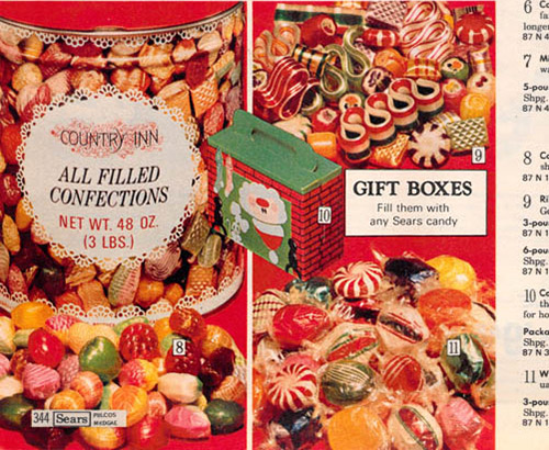 Sears Catalog – Christmas Hard Candy country inn confections