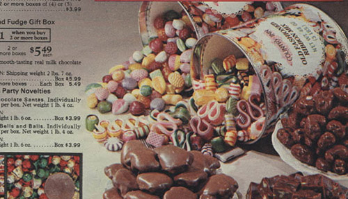 Sears Catalog – Christmas Hard Candy tin