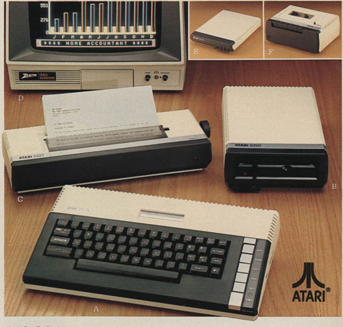 Personal Computers In the 1980s atari 800 xl