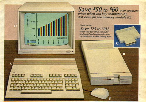 Personal Computers In the 1980s commodore c128