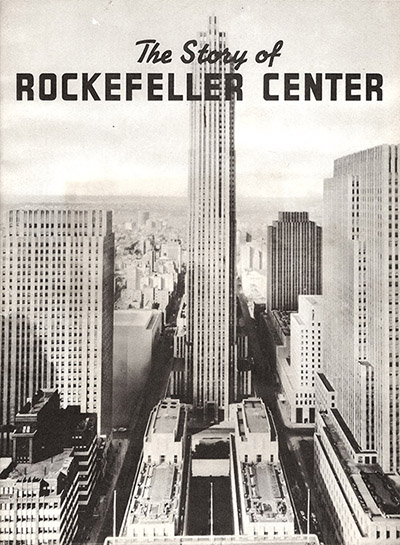 rockefeller center in 1939
