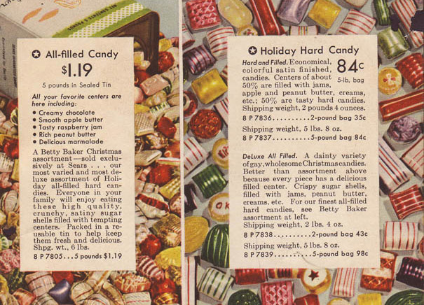 Sears Catalog – Christmas Hard Candy