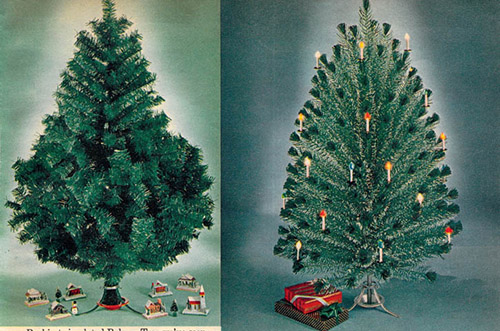 1962 Sears Catalog Artificial Christmas Tree