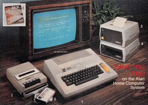 Personal Computers In the 1980s atari 800