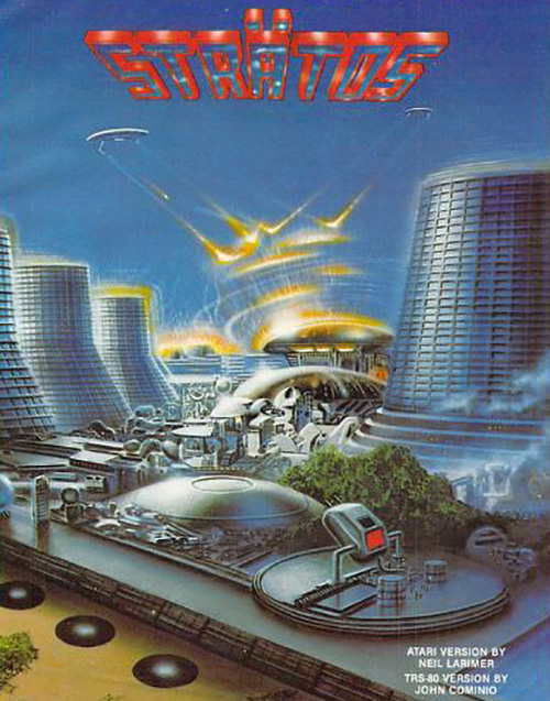 Airbrushed Video Game Art Futuristic City