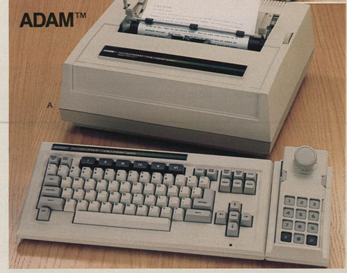 Personal Computers In the 1980s coleco adam