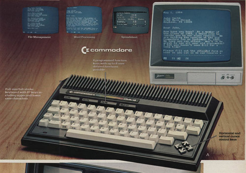 Personal Computers In the 1980s commodore plus/4