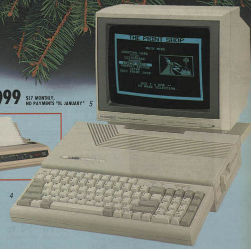 Personal Computers In the 1980s sears laser clone