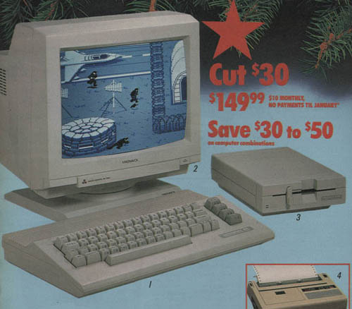 Personal Computers In the 1980s commodore 64c