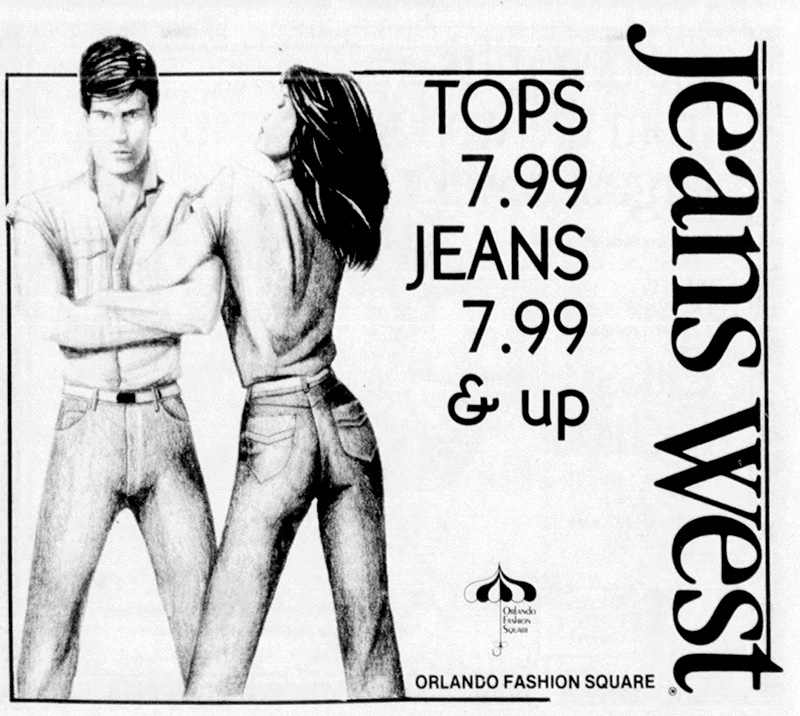 fashion square mall jeans west