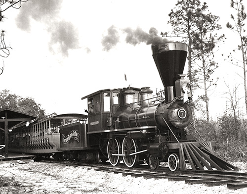 six gun territory ocala florida steam train locomotive